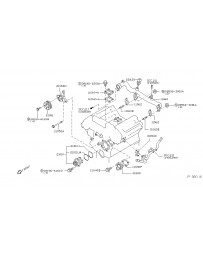 350z DE Nissan OEM Thermostat Housing Bolt
