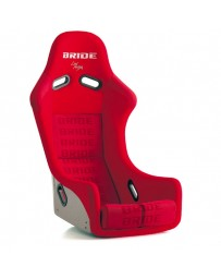 370z Bride Zieg III Bucket Seat, Red Logo FRP - Low Max System