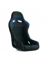 370z Bride Vios III Reims Bucket Seat, Black / Blue FRP - Low Max System