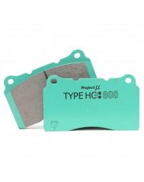 350z Project Mu HC+800 Front Brake Pads, Brembo Calipers