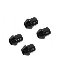 370z NRG hort Lug Nuts M12x1.25, Black - Set of 4