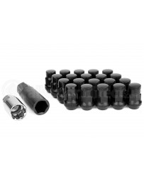 R35 GT-R Muteki SR35 GT-R Close End Lug Nuts with Lock Set, 35mm M12x1.25