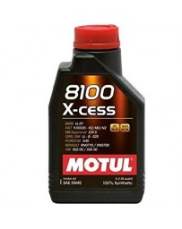 370z Motul 8100 X-CESS 5W40 Synthetic Engine Oil - 1 Liter