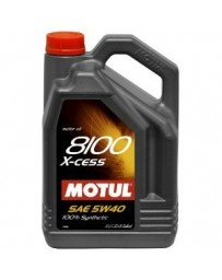 370z Motul 8100 X-CESS 5W40 Synthetic Engine Oil - 5 Liter