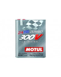 370z Motul 300V LE MANS 20W60 Synthetic Ester Racing Oil - 2 Liters
