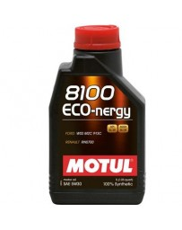 370z Motul 8100 5W30 ECO-NERGY Synthetic Engine Oil - 1 Liter