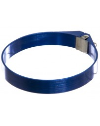 "370z P2M Aluminum 3"" Hose Clamp, Blue"