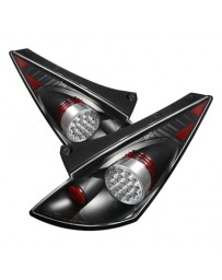 350z DE 2003-2005 Spyder LED Tail Lights Black ALT-YD-N350Z02-LED-BK