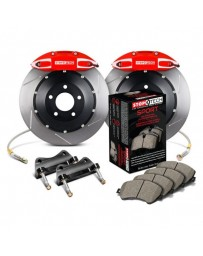 350z StopTech 4Pot Rear Big Brake Kit - Red/Slotted