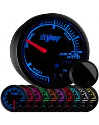 370z GlowShift Elite 10 Color Air / Fuel Ratio Gauge
