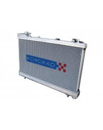 350z DE Koyo Aluminum Racing Radiator Manual Transmission