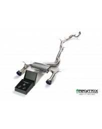 ARMYTRIX Stainless Steel Valvetronic Catback Exhaust System Quad Chrome Silver Tips Audi TT MKIII Quattro 2014+ (8S) 2.0 TFSI