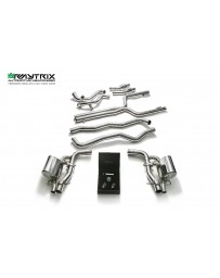 ARMYTRIX Stainless Steel Valvetronic Catback Exhaust System Mercedes Benz C63 AMG | AMG S W205 15-18