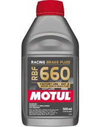 350z Motul RBF 660 Racing Brake Fluid, DOT 4