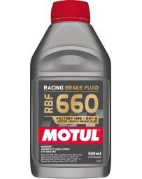 350z Motul RBF 660 Racing Brake Fluid, DOT 4