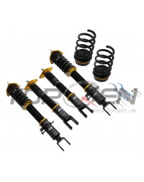350z ISC Suspension N1 Basic Coilovers Rubber Mount