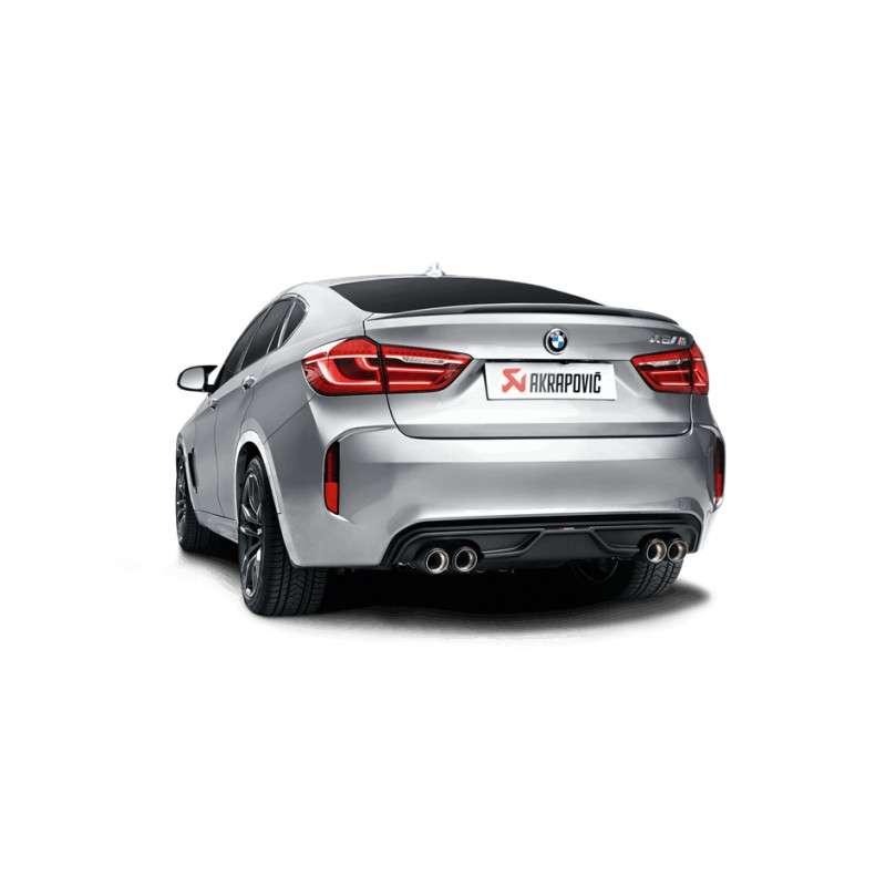 Bmw X6m 2015: Akrapovic BMW X6 M (F86) 2015+ Rear Carbon Fiber Diffuser