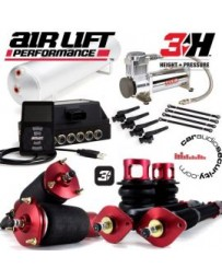 "370z AirLift Digital 3H 1/4"" Height & Pressure Control Air Suspension Kit"