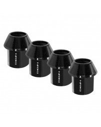 370z NRG Series 100 Lug Nut Lock Set, Black Chrome - 4 Pack