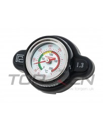 R35 GT-R P2M Radiator Gauge Cap with Temp Reading, 1.3 BAR
