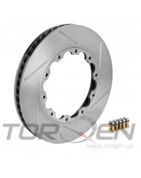 350z Stoptech 30.646.1112.99 Replacement AeroRotor Disc for 81.646.9911 Rotor Set,Slotted 324x30mm Brembo RH