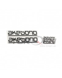 350z Akebono High Temperature Brake Caliper Sticker / Decal Set