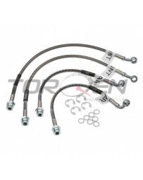 350z Russell Front and Rear Brake Line Kit with Brembo