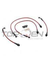 350z Agency Power Standard Steel Brake Line Set