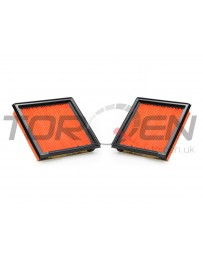 370z Nissan OEM Replacement Air Filter Element - Pair of 2