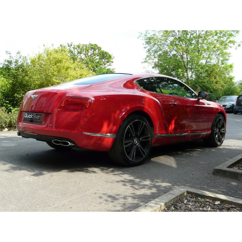 QuickSilver Exhausts Bentley Continental GT, GTC V8 And