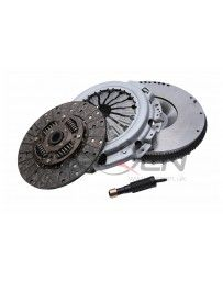 370z JWT Clutch & Flywheel Kit, Nodular Iron 26lb Flywheel, 900Kg Clutch/Disc/TO & Pilot Bearing