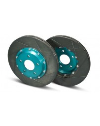 R34 Project Mu SCR-PRO 2-Piece Slotted Rotor Set, Front 324x30mm, with Brembo Calipers