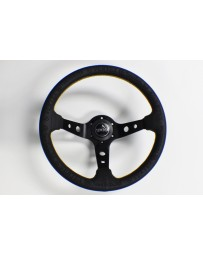"370z Vertex ""King"" 330mm Steering Wheel Black"