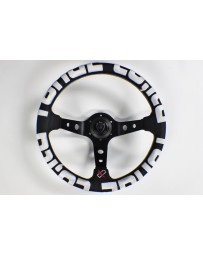 370z VERTEX T&E STEERING WHEEL WHITE