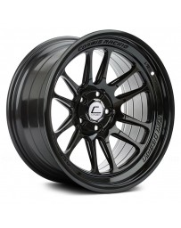 "COSMIS RACING - XT-206R Black (17"" x 9"", +5 Offset, 5x114.3 Bolt Pattern, 73.1mm Hub)"