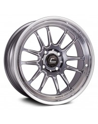 "COSMIS RACING - XT-206R Gunmetal with Polished Lip (15"" x 8"", +30 Offset, 4x100 Bolt Pattern, 67.1mm Hub)"