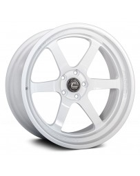 "COSMIS RACING - XT-006R White (18"" x 9.5"", +10 Offset, 5x114.3 Bolt Pattern, 73.1mm Hub)"