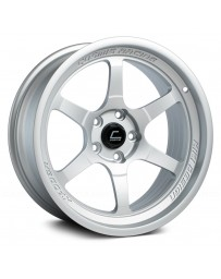"COSMIS RACING - XT-006R Matte Silver (18"" x 9.5"", +10 Offset, 5x114.3 Bolt Pattern, 73.1mm Hub)"