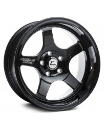 "COSMIS RACING - XT-005R Black (17"" x 9.5"", +5 Offset, 5x114.3 Bolt Pattern, 73.1mm Hub)"