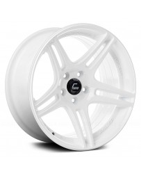 "COSMIS RACING - S5R White (18"" x 10.5"", +20 Offset, 5x114.3 Bolt Pattern, 73.1mm Hub)"