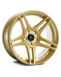"COSMIS RACING - S5R Gold (18"" x 10.5"", +20 Offset, 5x114.3 Bolt Pattern, 73.1mm Hub)"