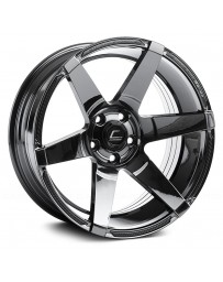 "COSMIS RACING - S1 Black Chrome (18"" x 9.5"", +15 Offset, 5x114.3 Bolt Pattern, 73.1mm Hub)"