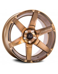 "COSMIS RACING - S1 Hyper Bronze (18"" x 10.5"", +5 Offset, 5x114.3 Bolt Pattern, 73.1mm Hub)"