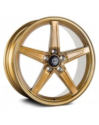 "COSMIS RACING - R5 Hyper Bronze (18"" x 8.5"", +40 Offset, 5x108 Bolt Pattern, 63.4mm Hub)"