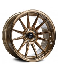 "COSMIS RACING - R1 Hyper Bronze (19"" x 9.5"", +35 Offset, 5x114.3 Bolt Pattern, 73.1mm Hub)"