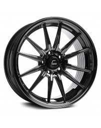 "COSMIS RACING - R1 Black Chrome (19"" x 8.5"", +35 Offset, 5x120.65 Bolt Pattern, 74.1mm Hub)"