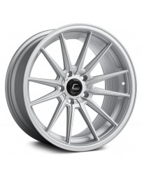"COSMIS RACING - R1 Matte Silver (18"" x 9.5"", +35 Offset, 5x114.3 Bolt Pattern, 73.1mm Hub)"