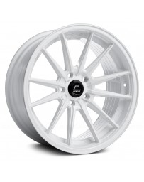 "COSMIS RACING - R1 White (18"" x 10.5"", +30 Offset, 5x114.3 Bolt Pattern, 73.1mm Hub)"