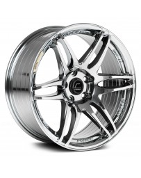 "COSMIS RACING - MRII Black Chrome (17"" x 9"", +10 Offset, 5x114.3 Bolt Pattern, 73.1mm Hub)"