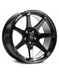 "COSMIS RACING - MR7 Black (18"" x 9"", +25 Offset, 5x114.3 Bolt Pattern, 73.1mm Hub)"